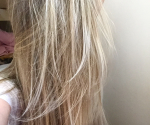 beauty, blond, and cabelo image