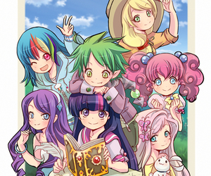 my little pony, anime, and MLP image