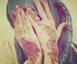 henna, muslima, and musulmanka image