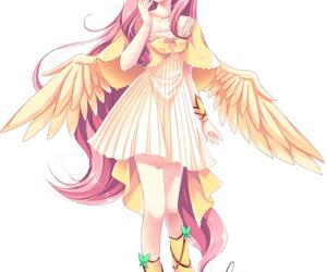 my little pony, anime, and fluttershy image