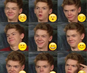 thomas sangster, thomas, and funny image