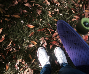 converse, pennyboard, and cool image