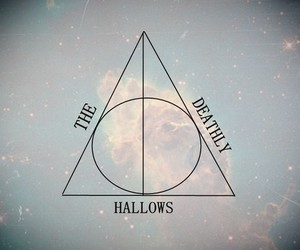 harry potter, the deathly hallows, and nebula image