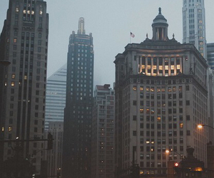 chicago, city lights, and photography image