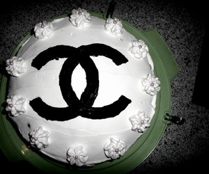 cake, luxury, and chanel image