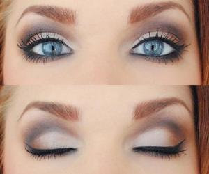 eyes, make, and make up image