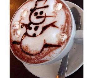christmas, delicious, and snowman image