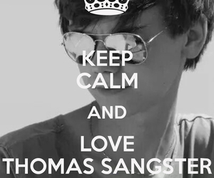 thomas brodie sangster and keep calm image