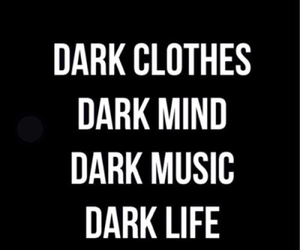 dark, life, and music image