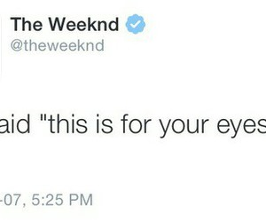 the weeknd, quotes, and text image