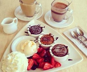 food, breakfast, and chocolate image