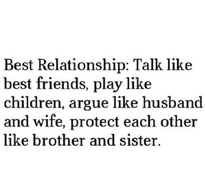 Relationship, love, and best friends image