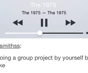 the 1975, group, and music image