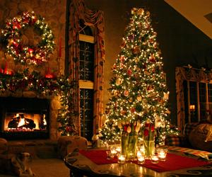 arbol, christmas, and lights image
