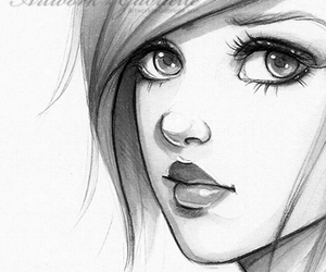 beautiful and drawing image