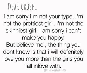 crush, happy, and heartache image