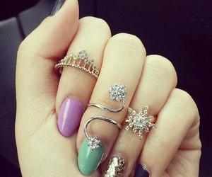 accessoires, glitter, and pretty image