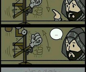 Assassins Creed, funny, and humor image