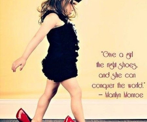 Marilyn Monroe, quotes, and shoes image