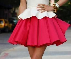 pink, pretty, and white image