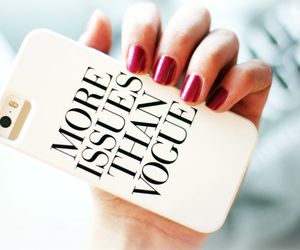 vogue, iphone, and case image