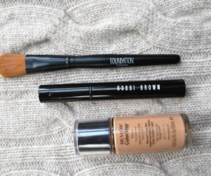 makeup, Foundation, and bobbi brown image