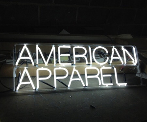 american apparel, grunge, and light image