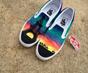 vans, cool, and shoes image
