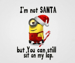 minions, christmas, and funny image