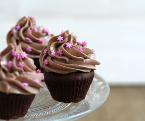 chocolate, nutella, and cupcakes image