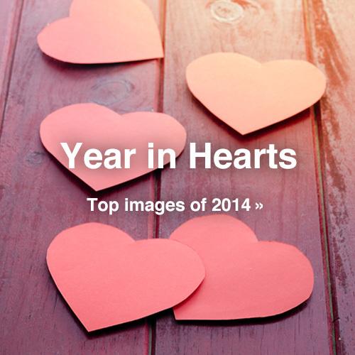 christmas, hearts, and like image