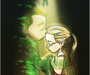 olicity, arrow, and oliver queen image