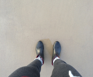 beach, boots, and pale image