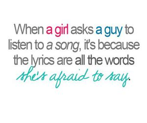 girl, song, and boy image