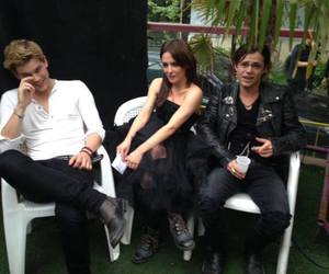 addison timlin, jeremy irvine, and fallen movie image