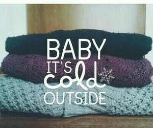 cold, winter, and sweater image