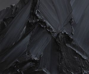 black, paint, and art image