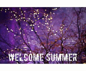 christmas, lights, and welcome summer image