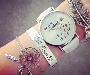 watch, accessories, and bracelet image