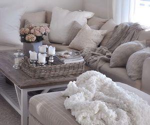 interior, cozy, and grey image
