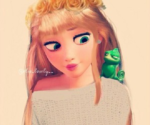 rapunzel and sweater image