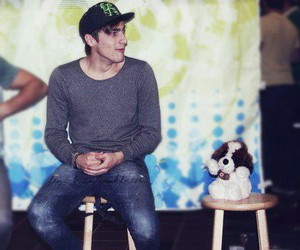 puppy, sweet, and kendall schmidt image