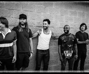 maroon 5, adam levine, and band image