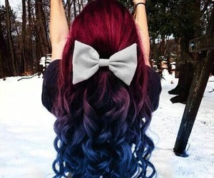amazing, hair, and red image