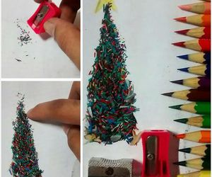 christmas, creative, and tree image