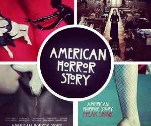 ams, freak show, and horror image