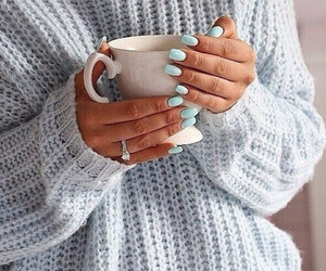 blue, jewelry, and nail art image