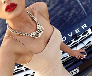 car, fashion, and lips image