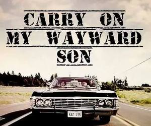 dean winchester, impala, and cute image