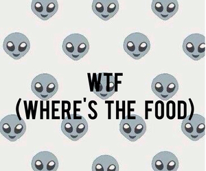 food, wtf, and alien image